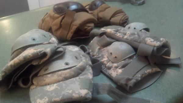 U.S. Military Tactical Knee Pads and Elbow Pads - $10