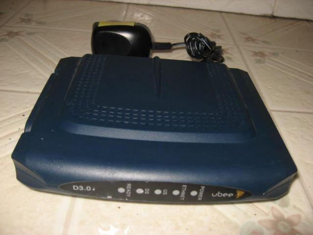 Ubee Cable Modem - DOCSIS 3 0