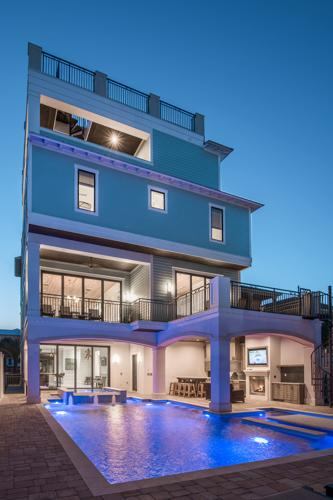 ultimate vacation rental home with gulf and bay views for