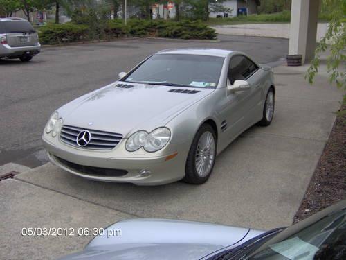 Ultra rare 2003 mercedes sl500 designo launch edition for Mercedes benz poughkeepsie ny
