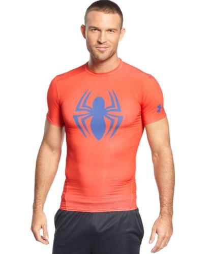 Under Armour Alter Ego Shirt, Spiderman Compression
