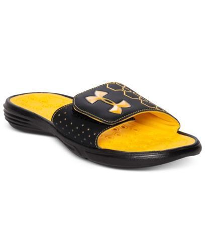 Under Armour Men's Shoes, Playmaker Slide Sandals for sale in