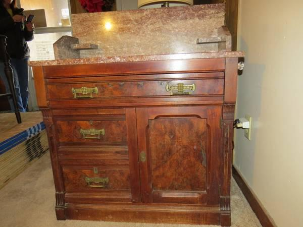 antique marble top washstand Art and antiques for sale in Springdale, Pennsylvania classifieds  antique marble top washstand
