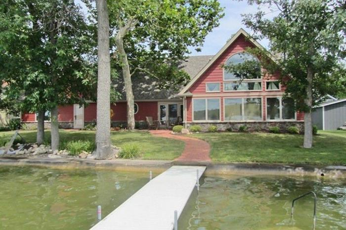 Unique Crooked Lake Property With 200' Of Lakefront
