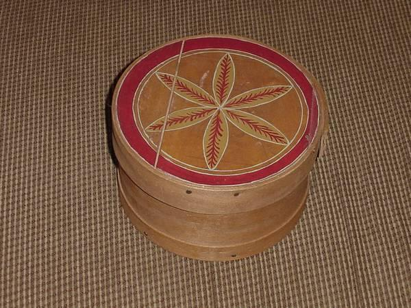 Unique Hand Made Hat Box Jewelry Keepsake Or Small Item Box For