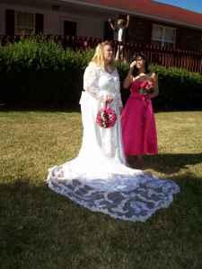 Unique Wedding Dress - $500 Lexington,SC
