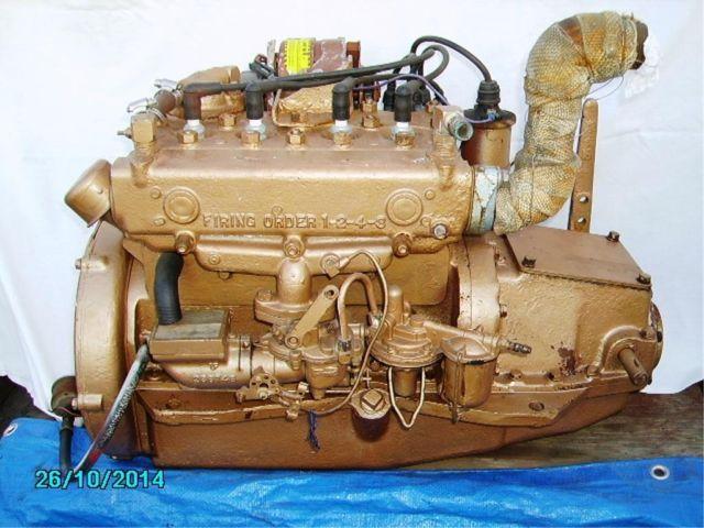 universal atomic 4 gas engine 30 hp 4 cylinder rebuilt motor runs good for sale in wilmington. Black Bedroom Furniture Sets. Home Design Ideas