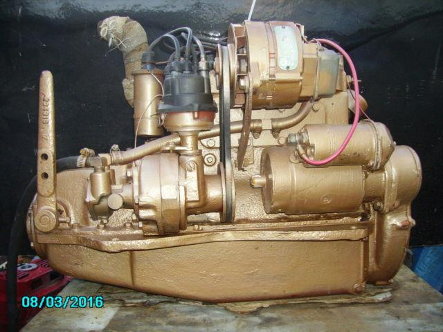 UNIVERSAL ATOMIC 4 SAILBOAT MOTOR 30 HP GAS ENGINE REBUILT RUNS GREAT