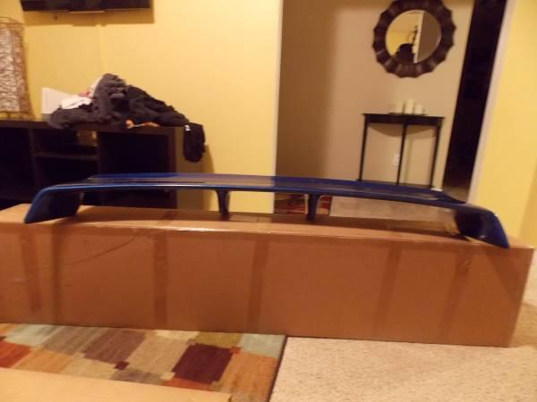 Universal trunk spoiler with LED - $50