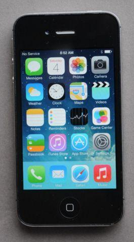 UNLOCKED Apple iPhone 4S - 8GB - T-Mobile MetroPCS Simple Mobile