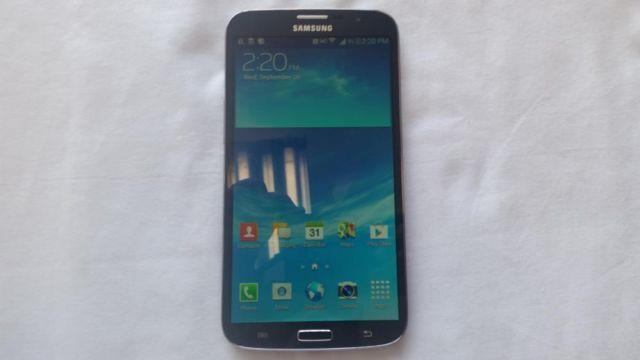 Unlocked Samsung Galaxy Mega Black