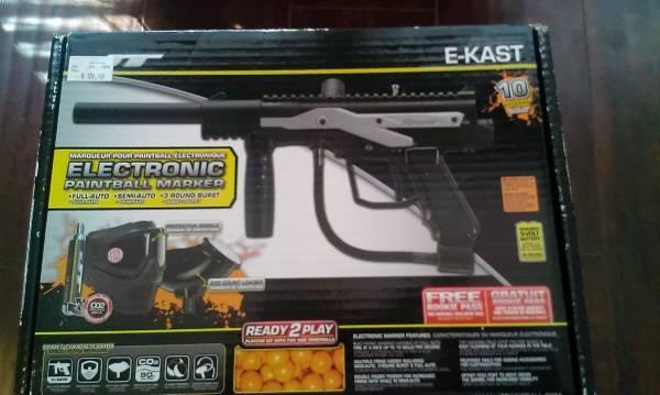 unopened e kast paintball gun complete kit for sale in orem utah classified