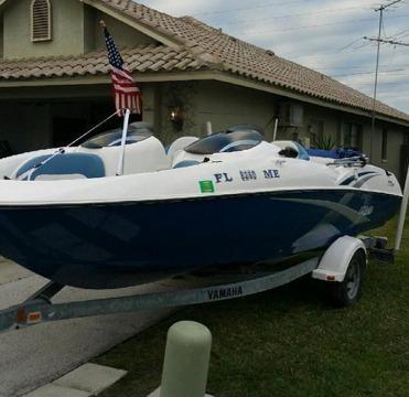 up my 2003 yamaha jet boat lx210 no reserve