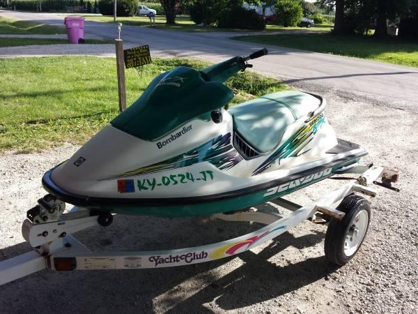 *UPDATED & REDUCED* 1996 Sea Doo SPX Bombardier - $800