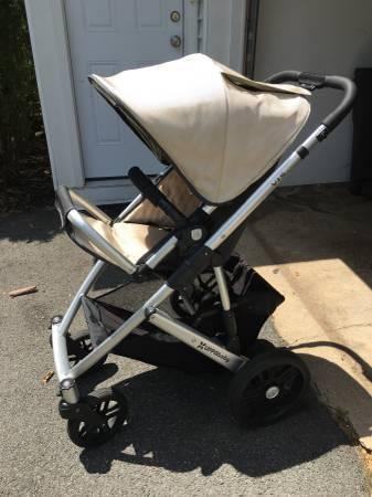 UPPAbaby Vista Bassinet and Stroller -Lindsey color-Great condition