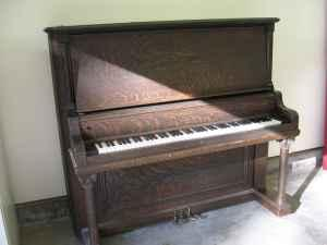 Upright baby grand piano kalispell for sale in for How big is a baby grand piano