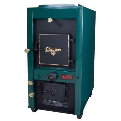 US Stove Clayton 3,600 sq. ft. Coal  Wood-Burning Stove