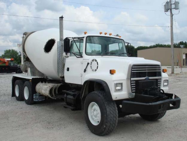 used 1997 ford lt8000 concrete truck for sale in west virginia for sale in colona illinois. Black Bedroom Furniture Sets. Home Design Ideas