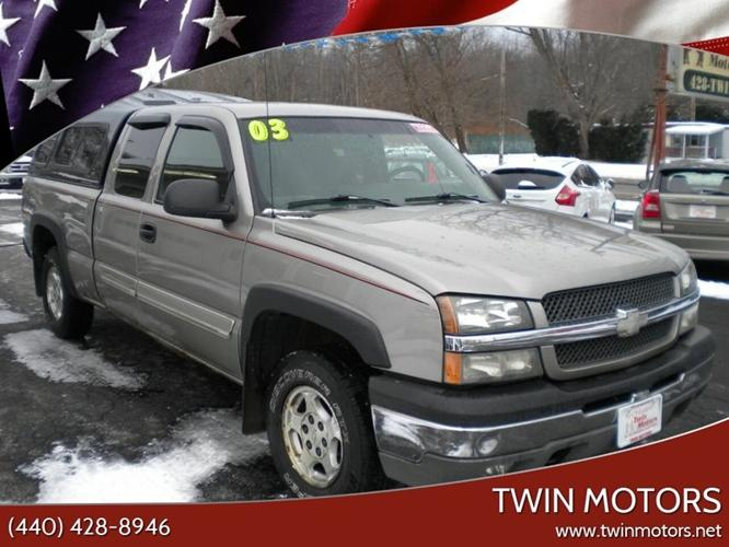 used 2003 chevrolet silverado 1500 4x4 extended cab madison, oh 44057 for sale in madison, ohio classified americanlisted.com
