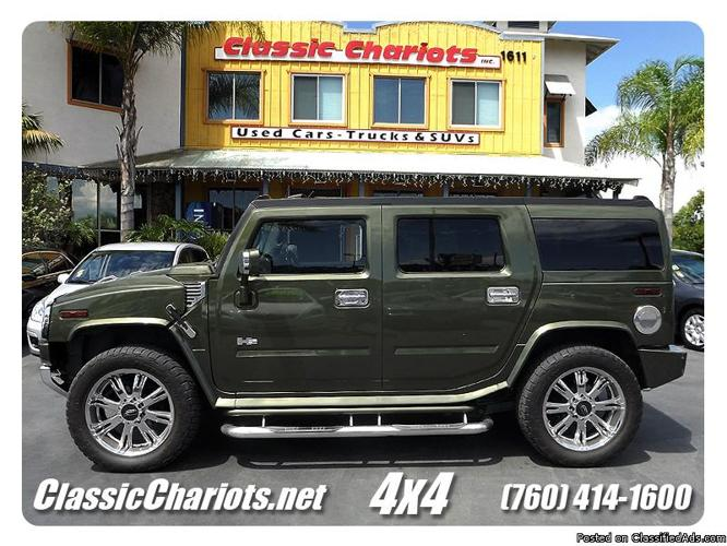 Used 2003 Hummer H2 with Supercharger/DVD/Subwoofer for ...