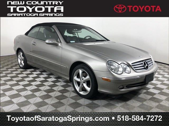 Used 2005 Mercedes-Benz CLK 320 Cabriolet Saratoga