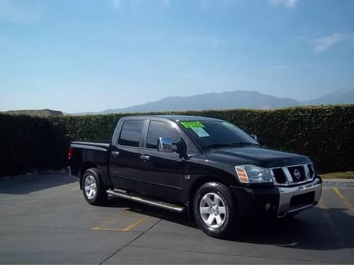 used 2006 nissan titan se crew cab 2wd upland ca for sale in upland california classified. Black Bedroom Furniture Sets. Home Design Ideas