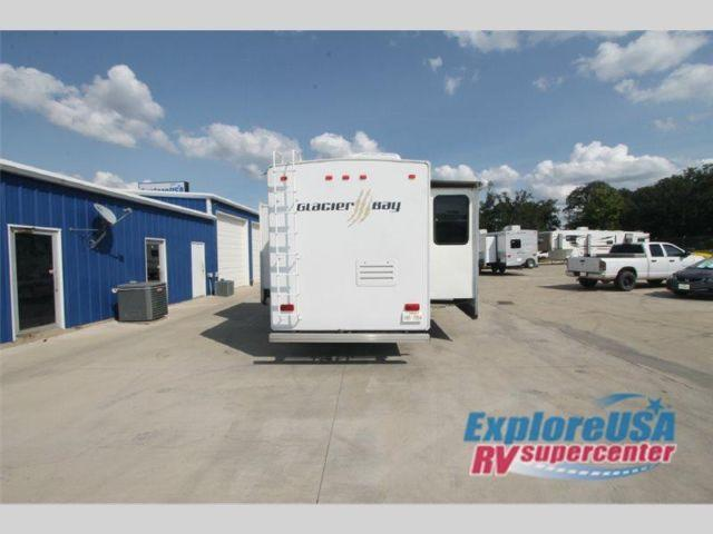 Used 2008 north american glacier bay 351rk fifth wheel for American homes tyler tx