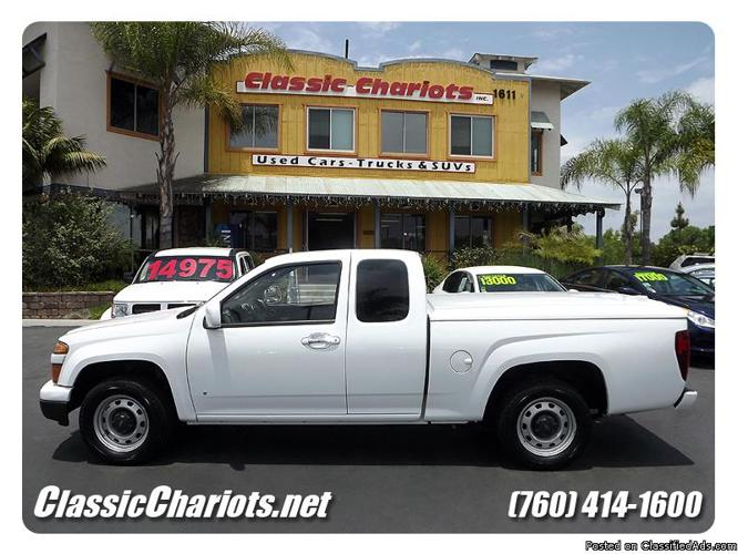 used 2009 chevrolet colorado work truck for sale in san diego 10488 for sale in vista. Black Bedroom Furniture Sets. Home Design Ideas