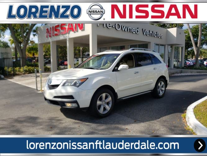 Used 2010 Acura MDX w/ Technology Package FORT