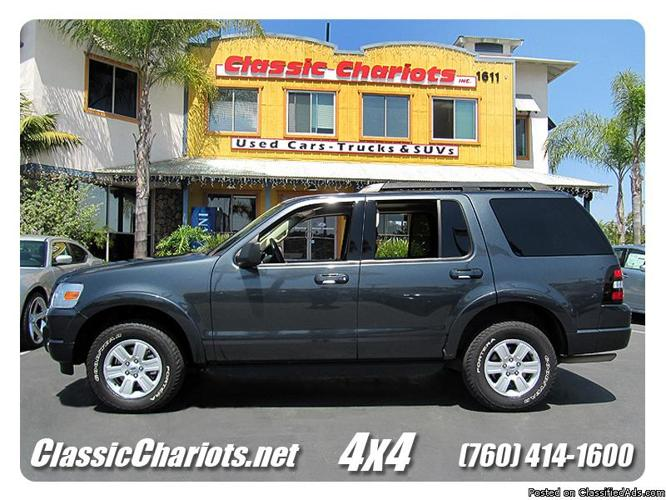 used 2010 ford explorer xlt 4x4 for sale in san diego 10354 for sale in vista california. Black Bedroom Furniture Sets. Home Design Ideas