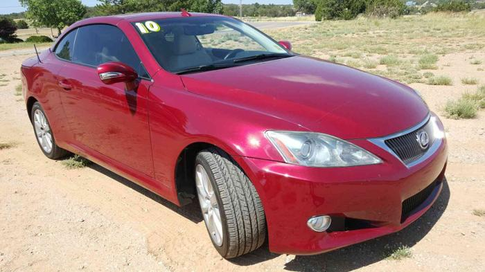 Used 2010 Lexus IS 250C EDGEWOOD, NM 87015