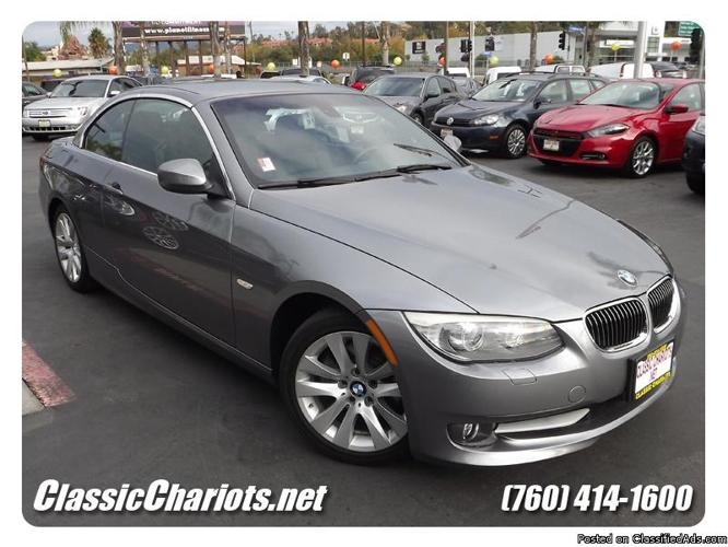 used 2011 bmw 328i convertible for sale in san diego for sale in vista california classified. Black Bedroom Furniture Sets. Home Design Ideas