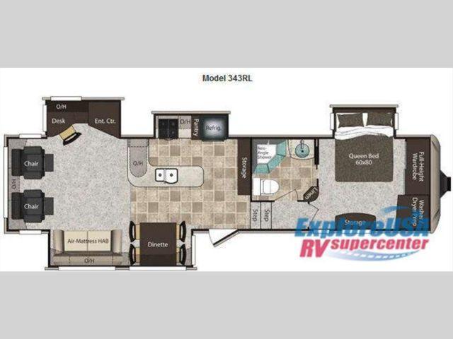 Used 2011 Keystone Rv Montana High Country 343rl Fifth