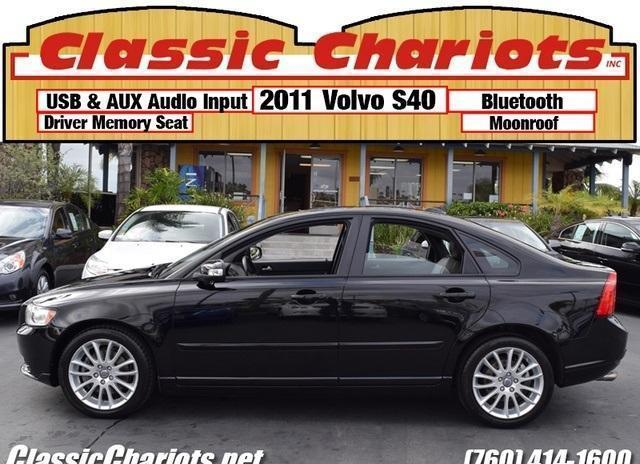 Used 2011 Volvo S40 T5 R-Design with Leather, Memory Power
