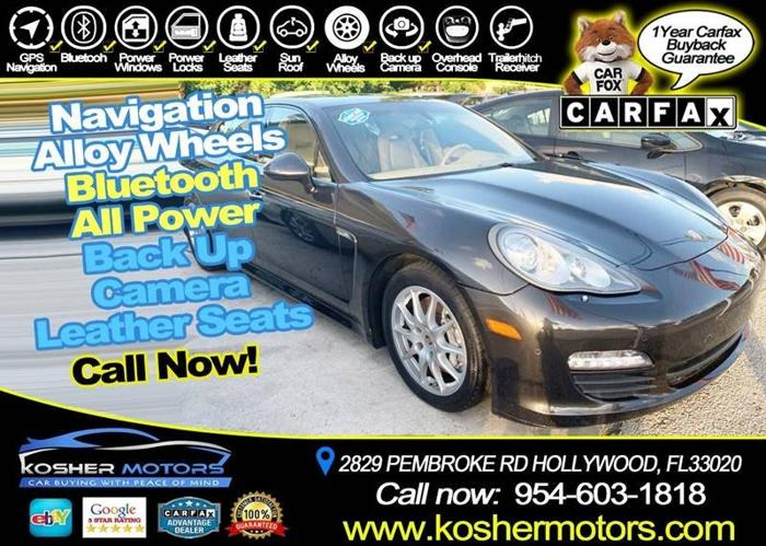 Used 2012 Porsche Panamera HOLLYWOOD, FL 33020