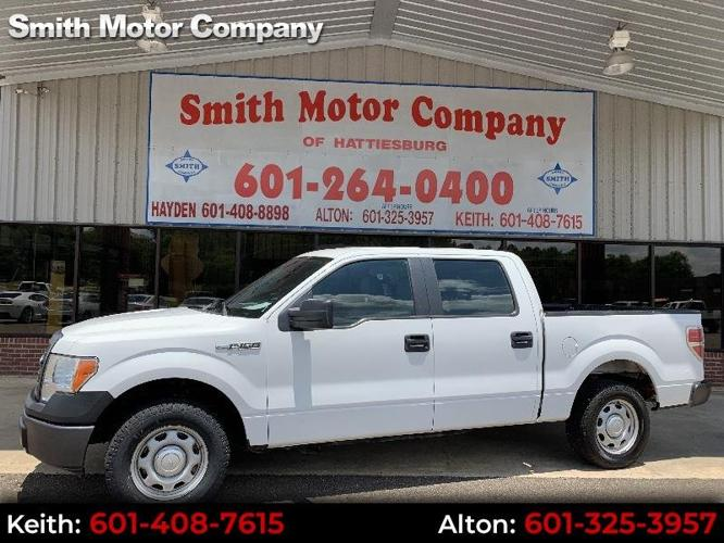 Used 2013 Ford F150 2WD SuperCrew XL HATTIESBURG, MS