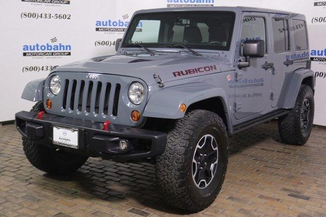 Used 2013 Jeep Wrangler 4WD Unlimited Rubicon Fort