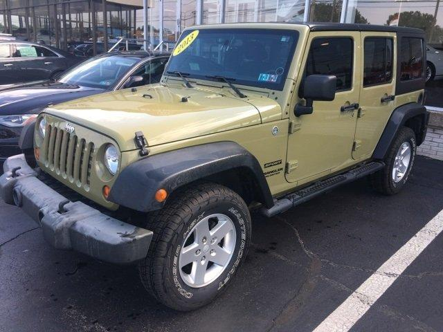 Used 2013 Jeep Wrangler 4WD Unlimited Sport Erie, PA