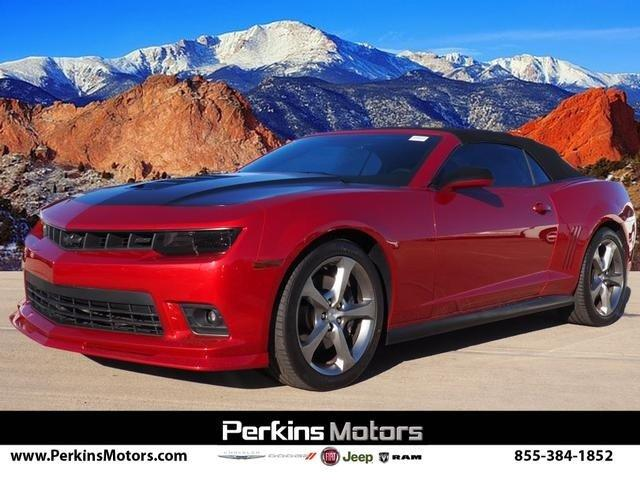 Used 2014 Chevrolet Camaro SS Convertible Colorado