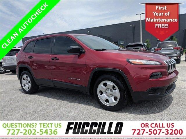 Used 2014 Jeep Cherokee FWD Sport CLEARWATER, FL 33764