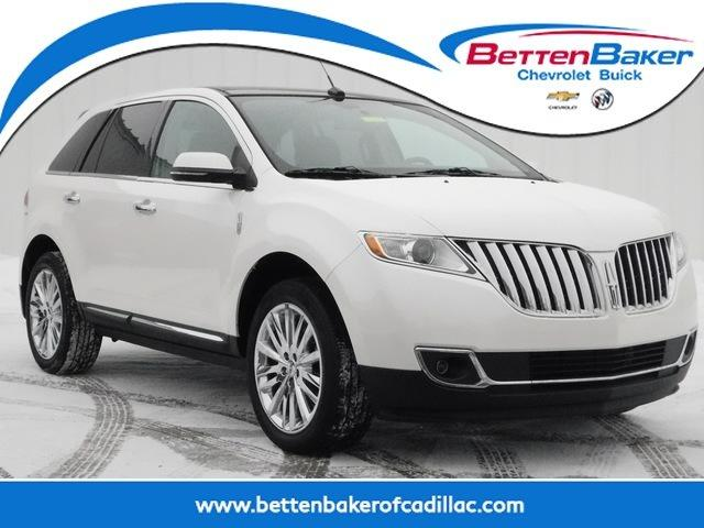 Used 2014 Lincoln MKX AWD CADILLAC, MI 49601