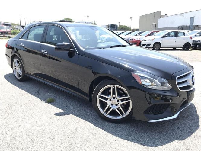 Used 2014 Mercedes-Benz E 350 4MATIC Sedan SOUTH