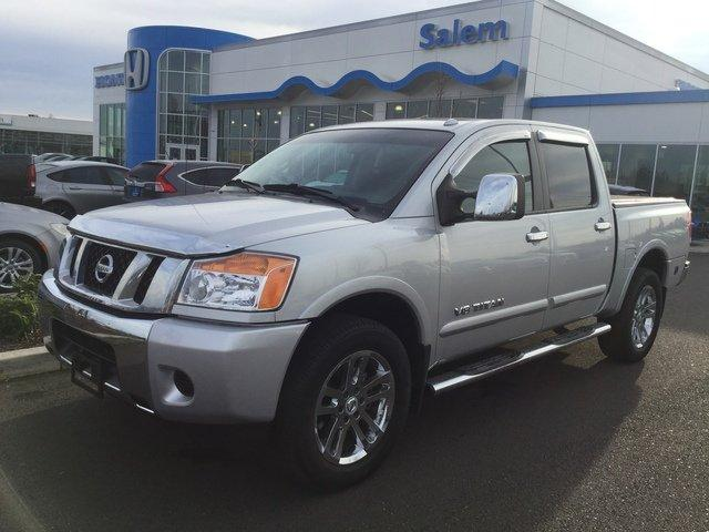 Used 2014 Nissan Titan 4x4 Crew Cab SL Salem, OR 97301