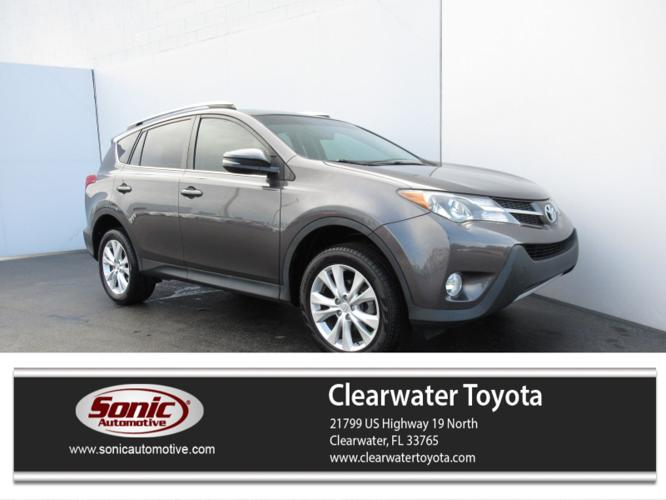 Used 2014 Toyota RAV4 FWD Limited Clearwater, FL 33765
