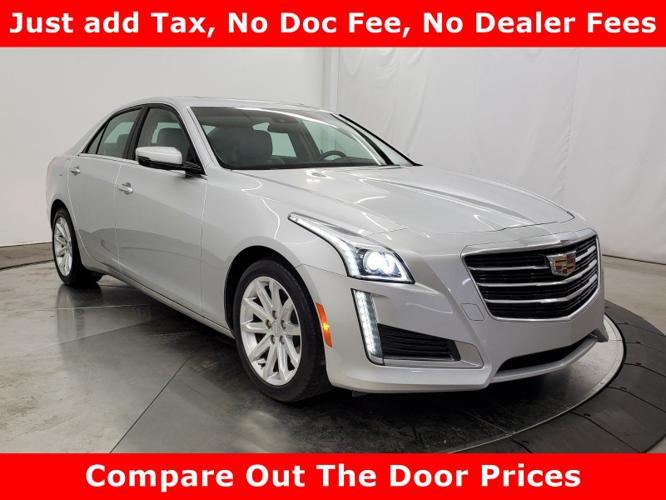 Used 2015 Cadillac CTS Luxury Sedan Tuscumbia, AL 35674