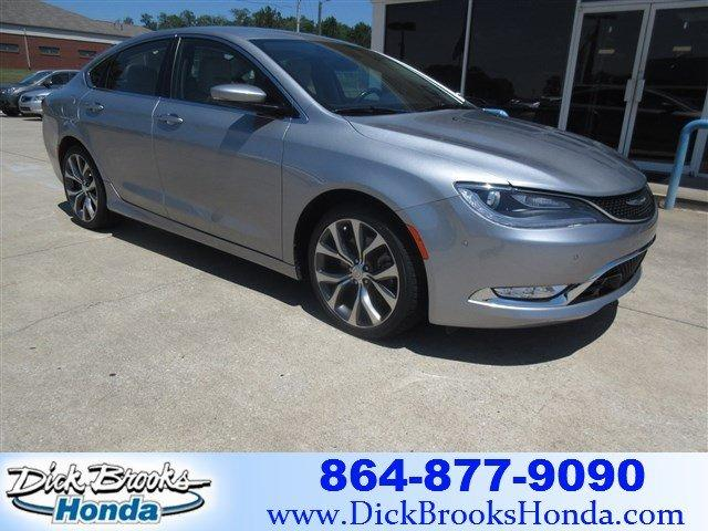 Used 2015 Chrysler 200 C Greer, SC 29651