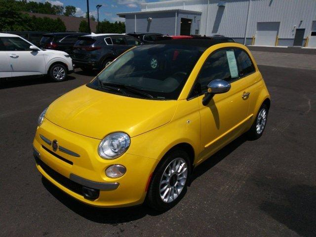 Used 2015 FIAT 500 Lounge Cabrio HERMITAGE, PA 16148