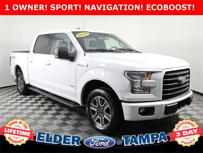 Used 2015 Ford F150 2WD SuperCrew XLT Tampa, FL 33612