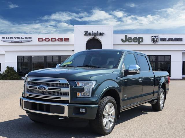 Used 2015 Ford F150 SuperCrew Platinum PLAINWELL, MI