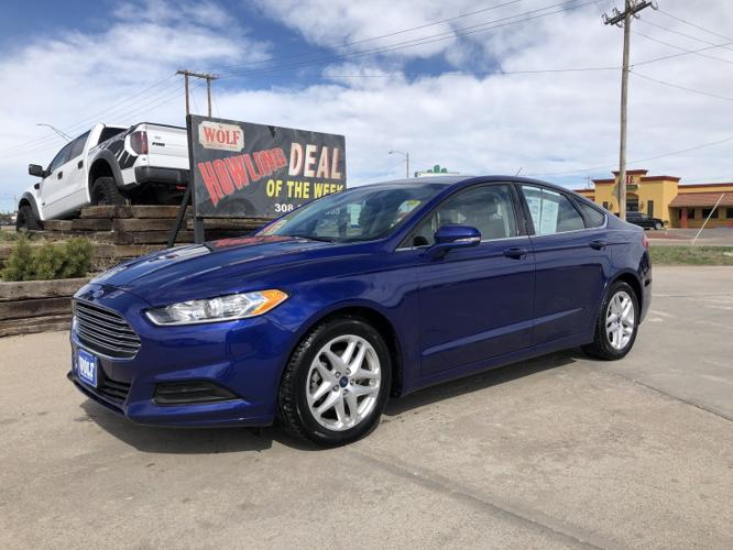 Used 2015 Ford Fusion SE SCOTTSBLUFF, NE 69361